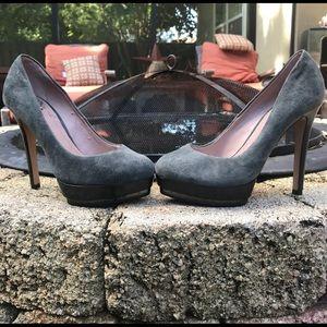 Women's Vince Camuto gray suede pumps!  NWOT!
